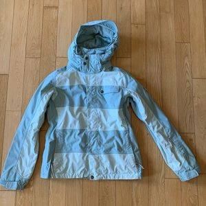 The North Face Snow Jacket Light Blue Suzie Small